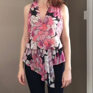 Marciano Floral Tank Blouse